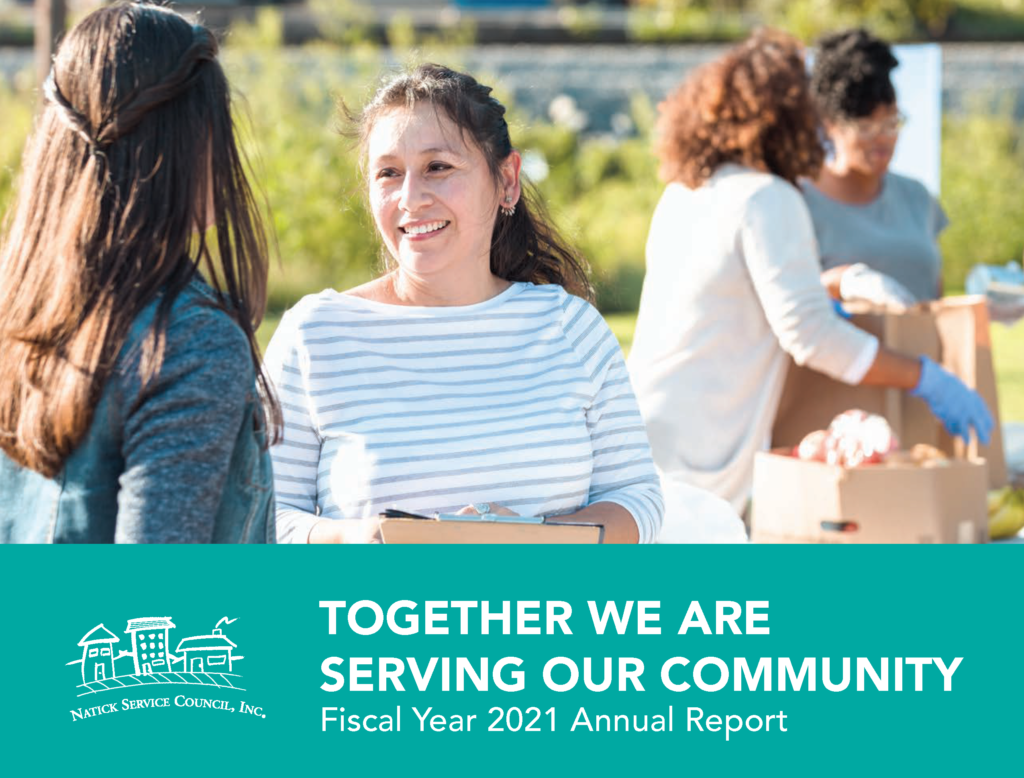 FY21 Annual Report Together We Are Serving Our Community Cover